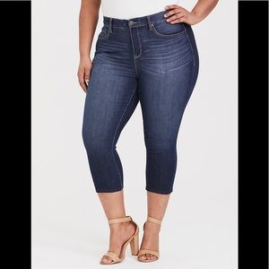 Torrid Crop Jeans